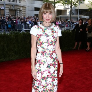 Anna Wintour in PUNK: Chaos to Couture Costume Institute Gala
