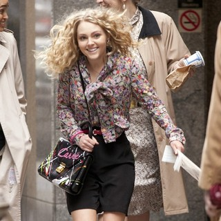 AnnaSophia Robb in AnnaSophia Robb on The Set of The Carrie Diaries