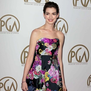 Anne Hathaway in 24th Annual Producers Guild Awards - Arrivals