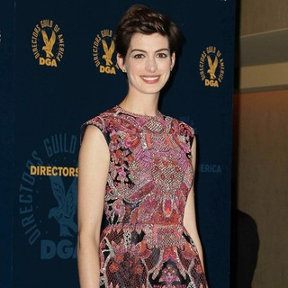Anne Hathaway in 65th Annual Directors Guild of America Awards - Press Room