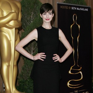 Anne Hathaway in 85th Academy Awards Nominees Luncheon