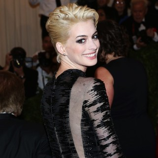 Anne Hathaway in PUNK: Chaos to Couture Costume Institute Gala