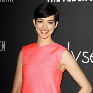 Anne Hathaway in Elyse Walker Presents The Pink Party 2013 Hosted by Anne Hathaway