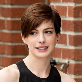 Anne Hathaway in Filming Song One