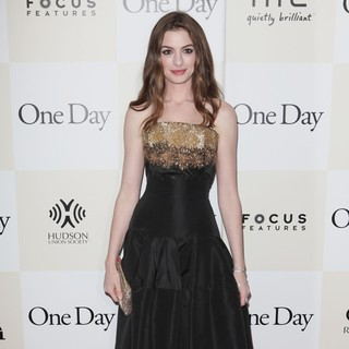 Anne Hathaway in New York Premiere of One Day
