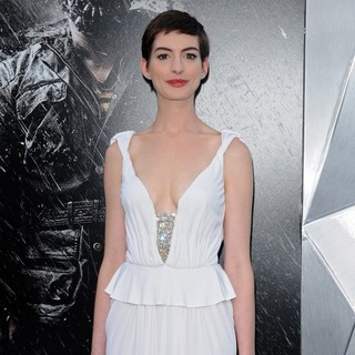 Anne Hathaway in The Dark Knight Rises New York Premiere - Arrivals