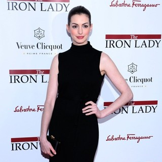 Anne Hathaway in The New York Premiere of The Iron Lady