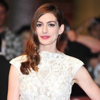 Anne Hathaway in One Day - UK Film Premiere - Arrivals