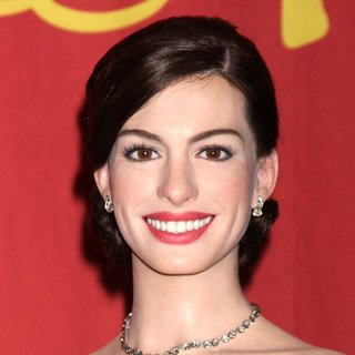 Anne Hathaway in A Waxwork of Anne Hathaway Unveiled