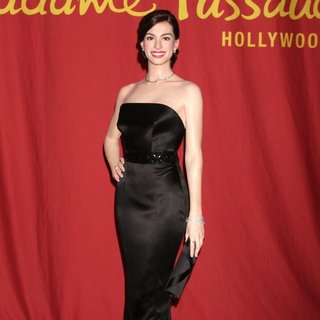A Waxwork of Anne Hathaway Unveiled