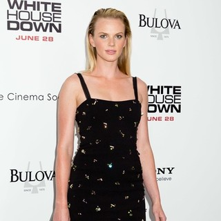 Anne Vyalitsyna in New York Premiere of White House Down
