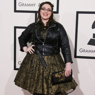 Annie Stoll in The 56th Annual GRAMMY Awards - Arrivals