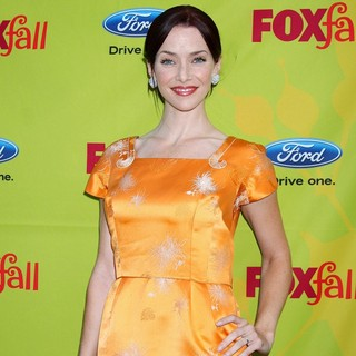 Annie Wersching in 2009 Fox Fall Eco-Casino Party