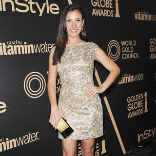Annika Marks in Miss Golden Globe 2013 Party Hosted by The HFPA and InStyle