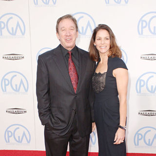 Tim Allen, Jane Hajduk in The 21st Annual PGA Awards 2010