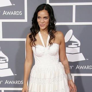 Anoushka Shankar in 55th Annual GRAMMY Awards - Arrivals