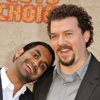 Aziz Ansari, Danny McBride in Spike TV's 5th Annual 2011 Guys Choice Awards - Arrivals