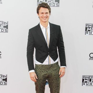 Ansel Elgort in 2014 American Music Awards - Arrivals - ansel-elgort-2014-american-music-awards-02