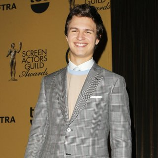 Ansel Elgort in 21st Annual Screen Actors Guild Awards - Nominations - ansel-elgort-21st-annual-screen-actors-guild-awards-nominations-02