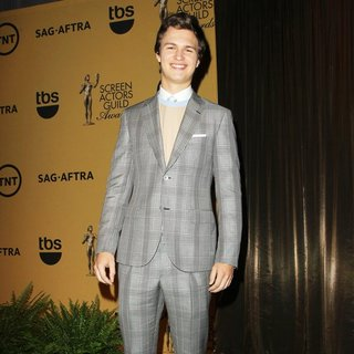 Ansel Elgort in 21st Annual Screen Actors Guild Awards - Nominations - ansel-elgort-21st-annual-screen-actors-guild-awards-nominations-03