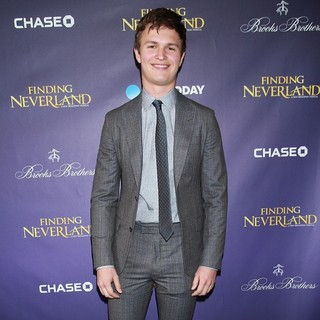Ansel Elgort in Opening Night of Broadway's Finding Neverland - Arrivals - ansel-elgort-opening-night-finding-neverland-02
