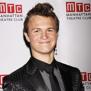 Ansel Elgort in Opening Night After Party for The MTC Production of Regrets