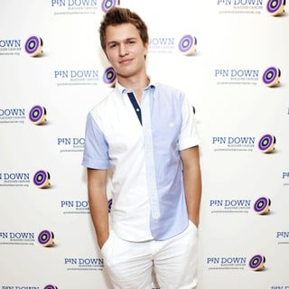 Ansel Elgort in The Pin DownBladder Cancer Event