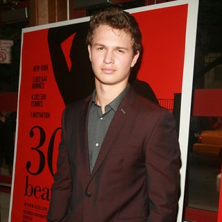 Ansel Elgort in The New York Premiere of 30 Beats