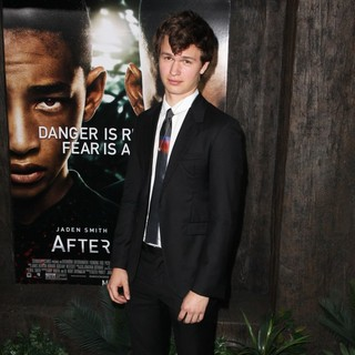 Ansel Elgort in New York Premiere of After Earth
