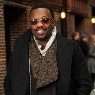 Anthony Hamilton in The Late Show with David Letterman - Arrivals - anthony-hamilton-late-show-with-david-letterman-01