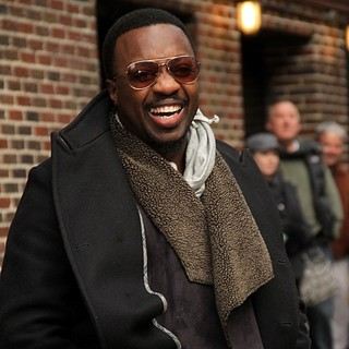 Anthony Hamilton in The Late Show with David Letterman - Arrivals - anthony-hamilton-late-show-with-david-letterman-02