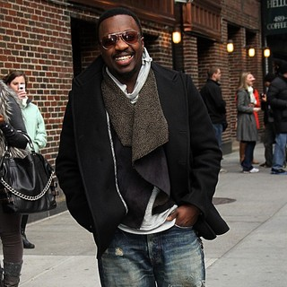 Anthony Hamilton in The Late Show with David Letterman - Arrivals