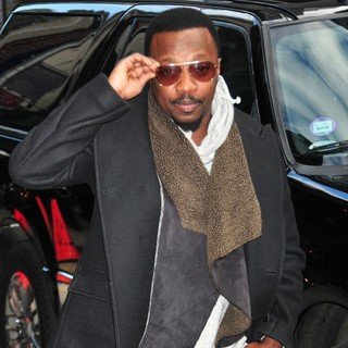 Anthony Hamilton in The Late Show with David Letterman - Arrivals - anthony-hamilton-late-show-with-david-letterman-04