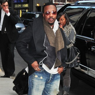 Anthony Hamilton in The Late Show with David Letterman - Arrivals - anthony-hamilton-late-show-with-david-letterman-05