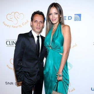 Marc Anthony, Shannon De Lima in 2012 Happy Hearts Fund Land of Dreams: Mexico Gala