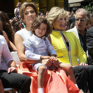 Jennifer Lopez, Max Anthony, Jane Fonda in Jennifer Lopez Is Honoured with The 2,500th Star on The Hollywood Walk of Fame