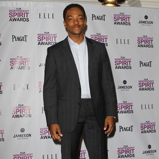 Anthony Mackie in Piaget at The 2012 Film Independent Spirit Awards Nominations Press Conference