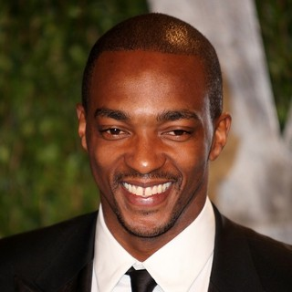 Anthony Mackie in 2012 Vanity Fair Oscar Party - Arrivals
