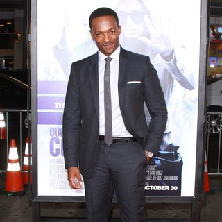 Anthony Mackie in Our Brand Is Crisis Premiere