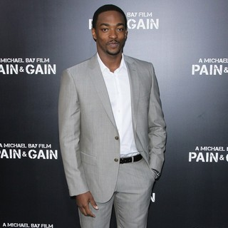 Anthony Mackie in Los Angeles Premiere of Pain and Gain - Arrivals