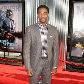 Anthony Mackie in Los Angeles Premiere of Real Steel