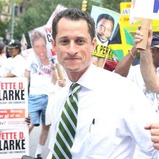 Anthony Weiner in West Indian Day Parade
