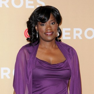 Antoinette Tuff in 2013 CNN Heroes: An All Star Tribute - Red Carpet Arrivals