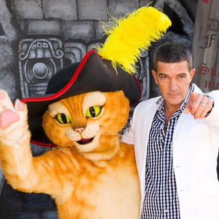 Antonio Banderas in The Los Angeles Premiere of Puss in Boots