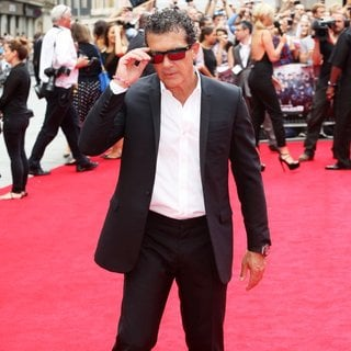 Antonio Banderas in The Expendables 3 - UK Film Premiere - Arrivals