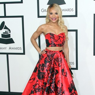 Antonique Smith in 57th Annual GRAMMY Awards - Arrivals
