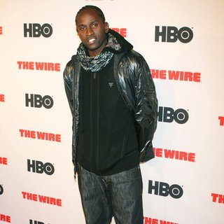 Anwan Glover in New York Premiere of HBO's The Wire
