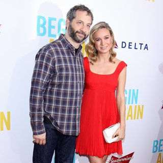 The New York Premiere of Begin Again - Arrivals - apatow-larson-premiere-begin-again-01