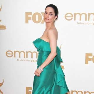 Archie Panjabi in The 63rd Primetime Emmy Awards - Arrivals