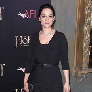 Archie Panjabi in Premiere of The Hobbit: An Unexpected Journey